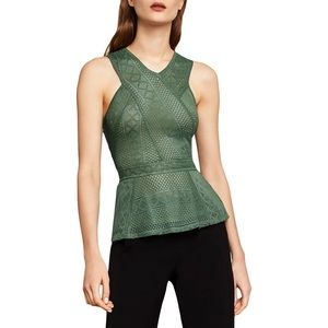 BCBGMaxazria olive green top